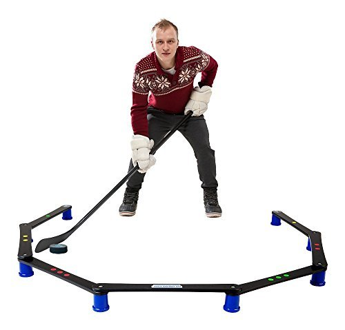 Hockey Pack (Hockey Revolution Stickhandling Training Aid, Equipment for Puck Control, Reaction Time and Coordination - MY ENEMY PRO)