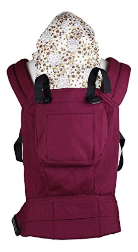 Baby Krishna Costume (Lily.N, Cotton-Baby-Carrier-Infant-Newborn-Comfort-Backpack-Buckle-Sling-Wrap-Fashion-03 (Red))