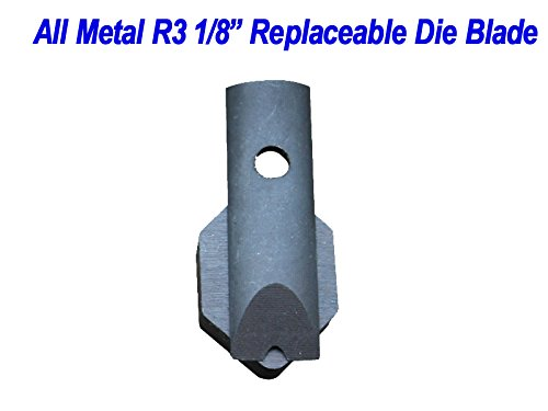 "R3 Radius(1/8"") Replaceable Die Blade for All Metal Corner Rounder Punch Cutter"