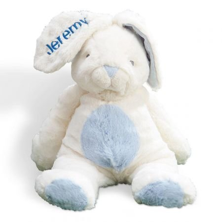 Lillian Vernon Personalized Blue Ultra-Plush My First Easter Bunny - Large 16