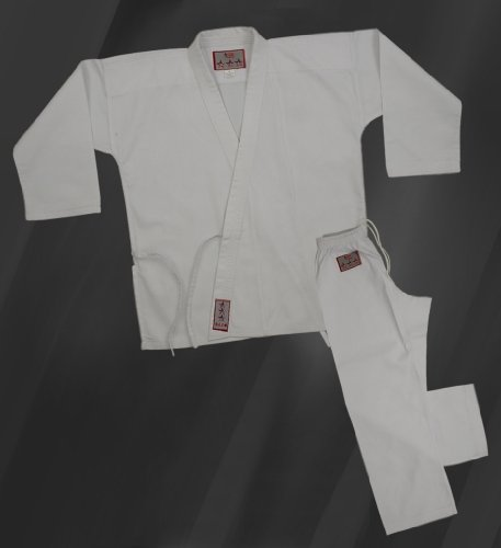 Student Karate Traditional Martial Arts Uniform white size 2