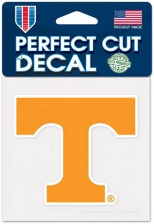 University of Perfect Cut Color Decal 4 x 4 Tennessee