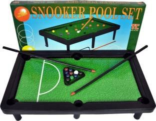 Buy FAVELA Mini Pool Table Game Table Top With Accessories Board ...