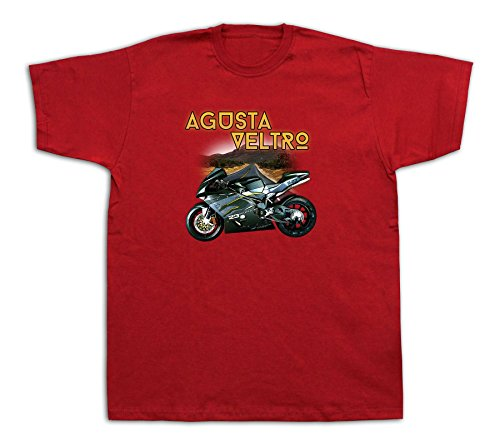 Motorcycle Agusta veltro Mountains snow rocks Tshirts MV F4 Strada Pista Galfer