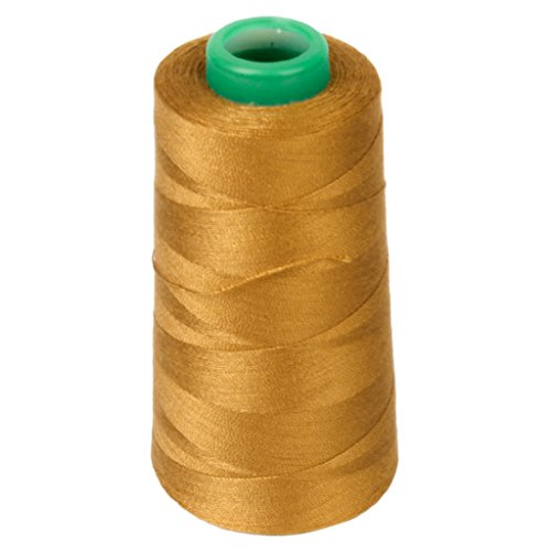 1 Spool Jeans Sewing Thread for Sewing Machine 20S/2 Golden (Yellow)