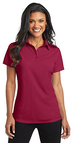 Port Authority Ladies Dimension Polo, Dark Navy, Large