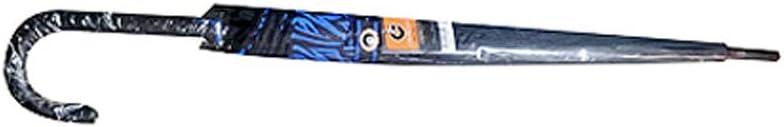 UPIT Automatic Open Zebra Umbrella Blue Color 23x12k