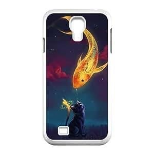 CAT YT8056218 Phone Back Case Customized Art Print Design Hard Shell Protection SamSung Galaxy S4 I9500