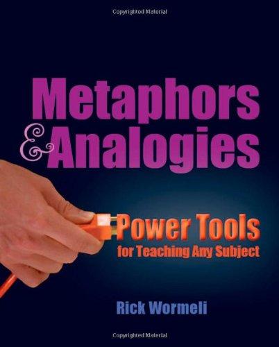 Metaphors & Analogies: Power Tools for Teaching Any Subject