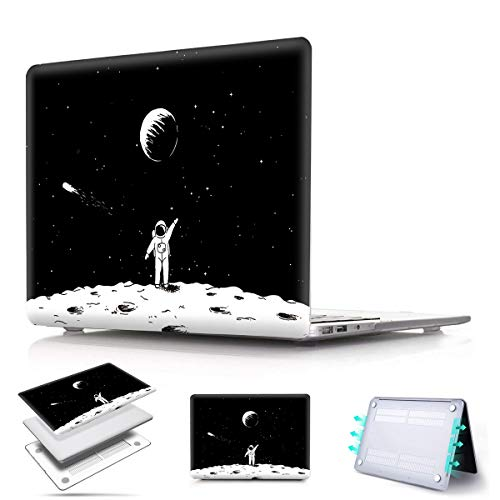PapyHall Old MacBook Pro 13 inch Plastic Shell Cover Only Compatible 2008-2012 Release MacBook Pro 13 inch CD-ROM (No Retina/Touch) Model: A1278 Astronaut