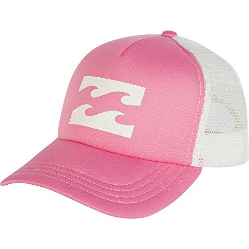 Billabong Junior's Trucker, Think Pink, One Cotton Trucker Cap
