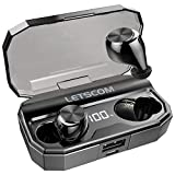 Wireless Earbuds, Letscom 80 Hrs Playtime, IPX6...