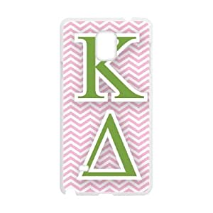 Kappa Delta Chevron Samsung Galaxy Note 4 Cell Phone Case White Protect your phone BVS_817213