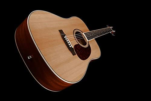 Guitarra austica Benton D-120 Natural 6 cuerdas + Bolsa: Amazon.es ...
