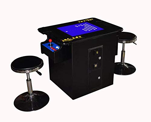 Coinopstore Professionally Made Commercial Quality LED Jamma Ready Vertical Cocktail Arcade Cabinet. Plays 60 Jamma -