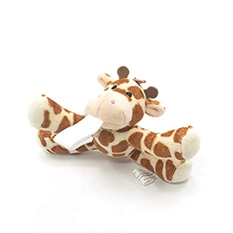 Giraffe Baby Dummy with Detachable Plush Stuffed Animal Toy