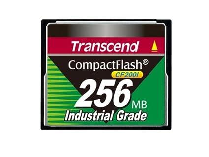 Transcend TS1GCF200I - Memoria Compact Flash de 1 GB, Negro