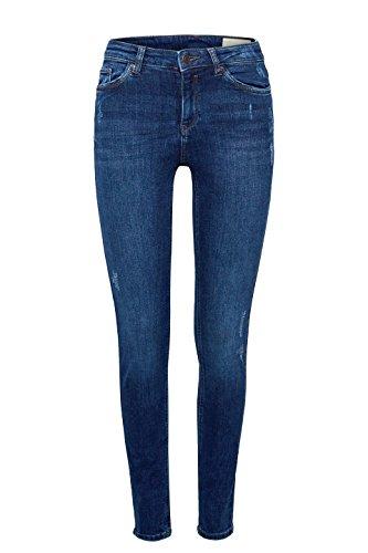Esprit Skinny Medium Azul Mujer Vaqueros 902 blue Wash Para grx5gq