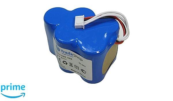 Trade de Shop Premium Ni-MH batería, 6 V/4500 mAh/27 wh para ...