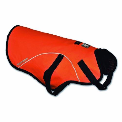 Ruffwear Track Jacket Safety Vest for Dogs, Blaze Orange, Large, My Pet Supplies