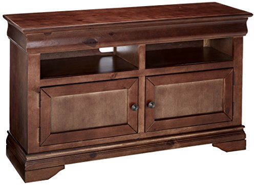"Progressive Furniture Coventry 54"" Console, Auburn Cherry"