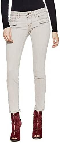 GUESS Power Skinny Zip Jeans