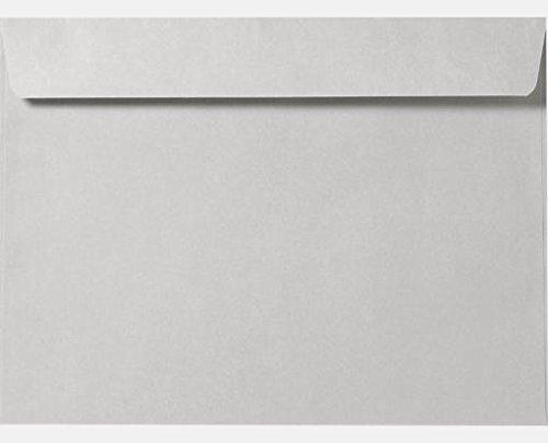 Gray Kraft 9 x 12 Booklet Envelopes (Pack of 50) ()