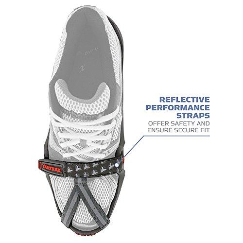 Yaktrax RUN - Calzado de jogging para hombre negro