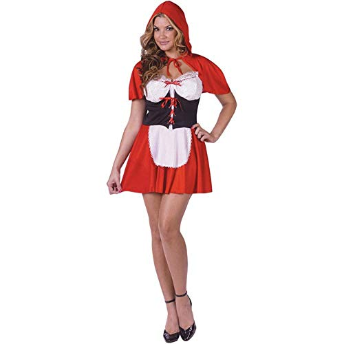 Fun World Women's Tall Size Riding Hood, red, Small/Medium]()