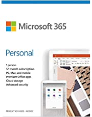 Microsoft 365 Personal, 1 Year Subscription 1 User