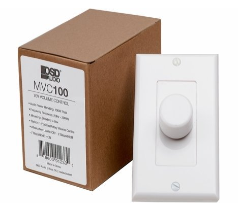 Control Gang (70V Commercial Volume Controls (100W))