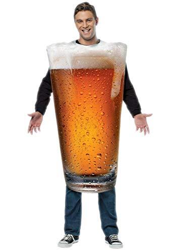 Rasta Imposta Beer Pint Costume, Gold, One Size]()