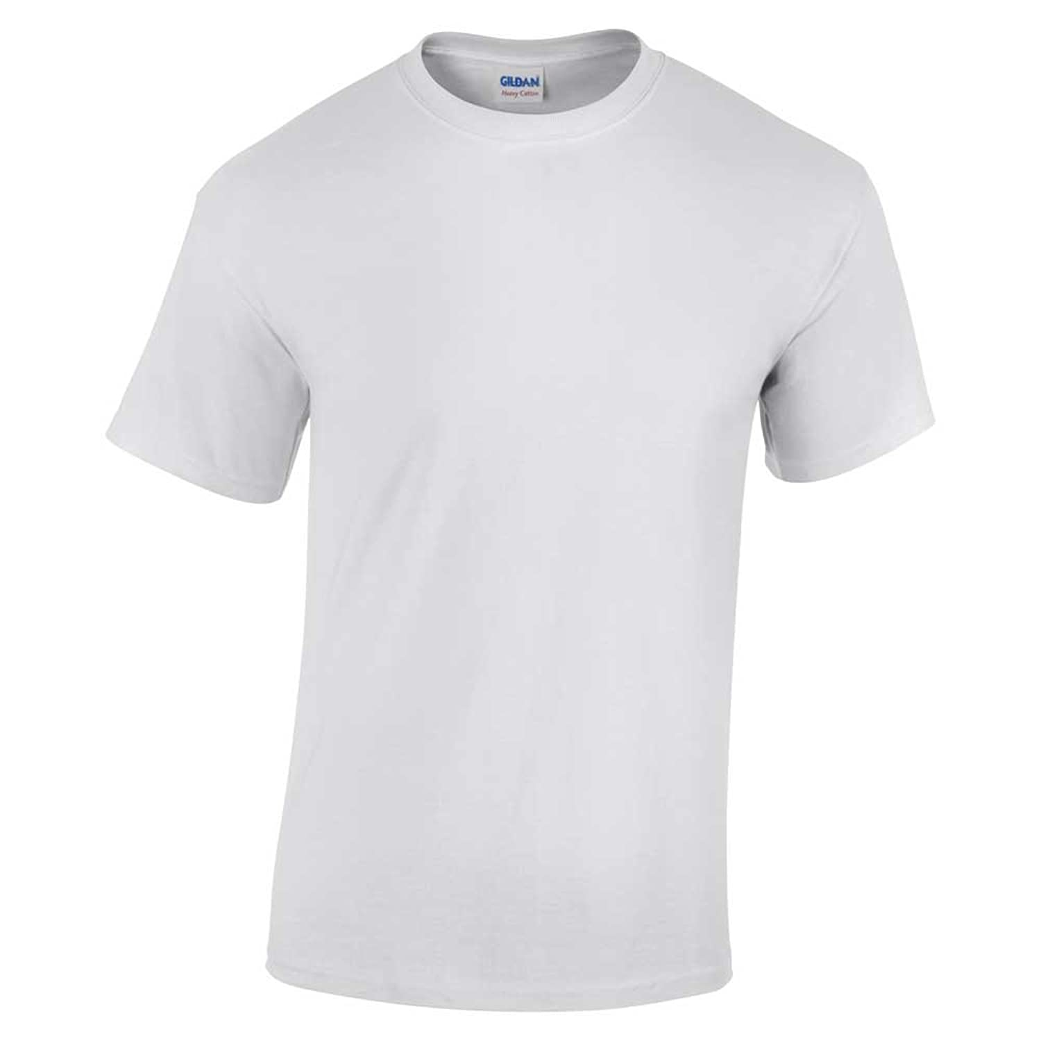 Thick cotton white shirt artee shirt for Where are gildan t shirts made