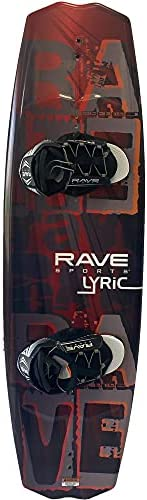 RAVE Sports 02395 Lyric Wakeboard with Advantage Boots