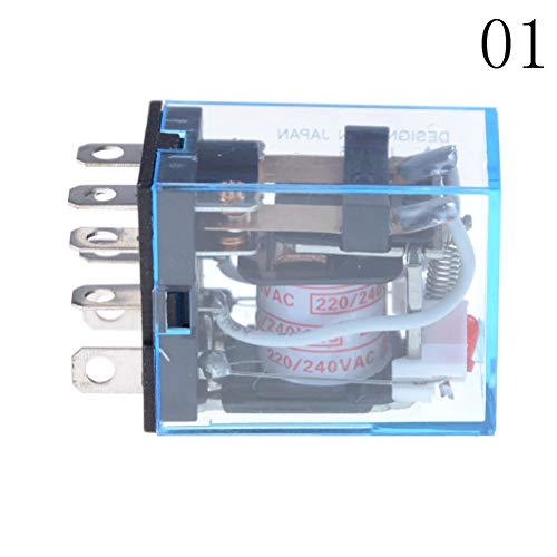 Ly2nj Base - 1pcs Dpdt Micro Mini Relay Or Socket Base Holder Ptf08a Ly2nj Hh62p 220v Ac Coil General Purpose - Reel Optocoupler 9006 Extension Ly2nj Voltage Wifi Tracker Baton System 12
