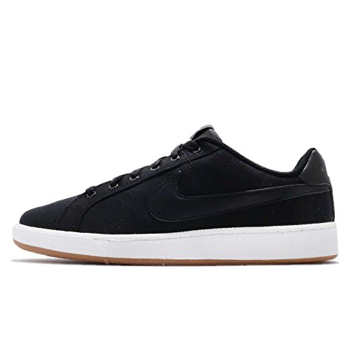 huge discount 0d721 6a5f6 Nike Para Hombre Aa2156001 Canvas Zapatos Court Royale Negro xIrXIq