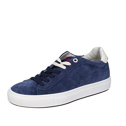 DAcquasparta Sneakers Hombre 40 EU Azul Gamuza