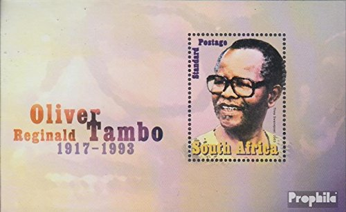 South Africa block96 (complete.issue.) 2003 Oliver Reginald Tambo (Stamps for - Africa Oliver South