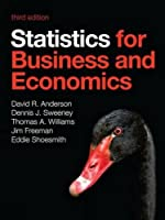 Statistics for Business and Economics, 3rd Edition