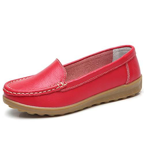 Zapatillas para Mujer Classic Slip-On Vans 34-40 EU Rojo