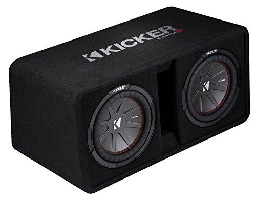 Kicker 43DCWR122 12'' 2000W Car Subwoofers Subs + Box+4000 Watt Mono Amp + Wiring by Kicker (Image #1)