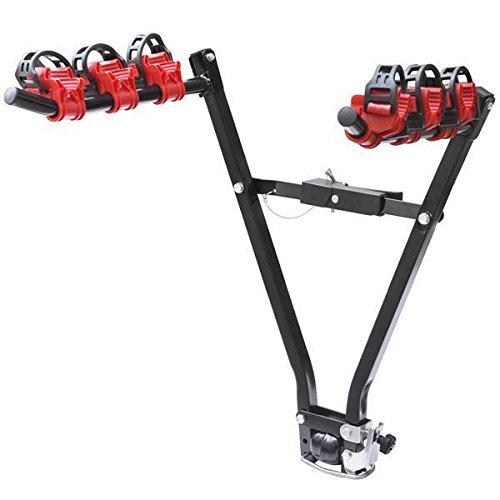 Popamaizng 3 bici per barra di rimorchio supporto per bicicletta portapacchi auto posteriore traino porta popamazing