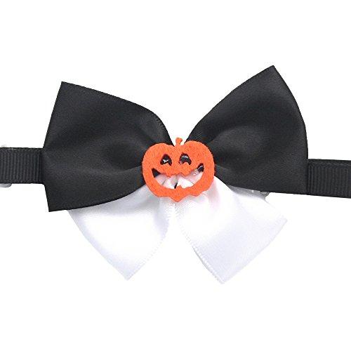 armistore 50PCs Dog Collar Celebrate Halloween Black White