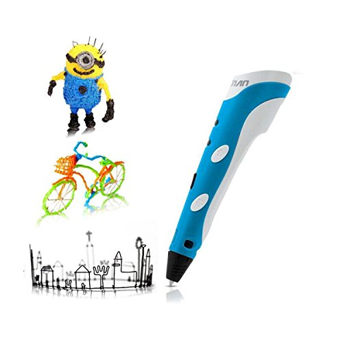 3d printing pen kuman 100b newest 3d drawing pen with lcd screen and doodle model making arts. Black Bedroom Furniture Sets. Home Design Ideas