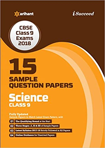 15 Sample Question Paper Science Class 9th CBSE: Amazon in