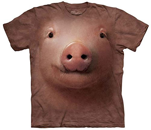 The Mountain Mens Pig Face T-Shirt