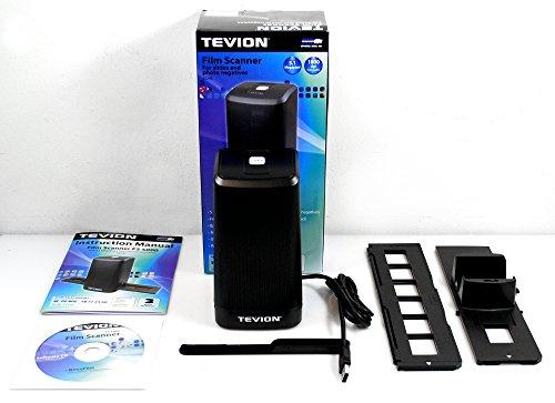 Tevion FS 5000 Diafilm Negativfilm USB 2.0 Scanner 1800dpi (3600dpi interpoliert) 30Bit Farbtiefe 5.1 Megaixel CMOS Sensor Dia Negativ Film Scanner
