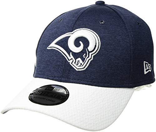 New Era 2018 3930 NFL Los Angeles Rams Sideline Home Hat Cap Flex Fit , Small  Medium , Custom
