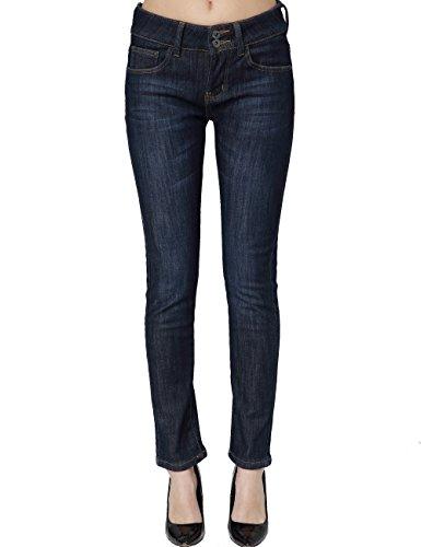 827 Donna Slim Jeans Blau Pile Fit Camii Mia Foderati 5 Da In OHBwZvx