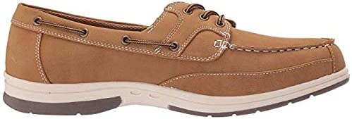 メンズスリッポン・ボートシューズ・靴 Mitch Boat Shoe Light Tan 26cm W (3E) [並行輸入品]